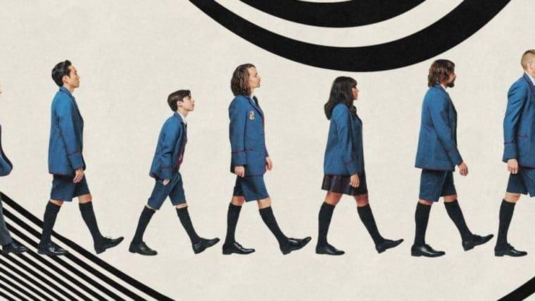 The Umbrella Academy | Personagens vestem novamente seus uniformes em pôster
