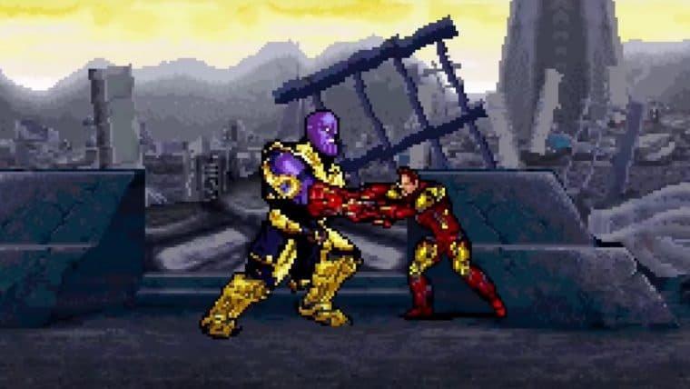 Vingadores: Ultimato | Artista recria batalha final contra Thanos em 16-bits