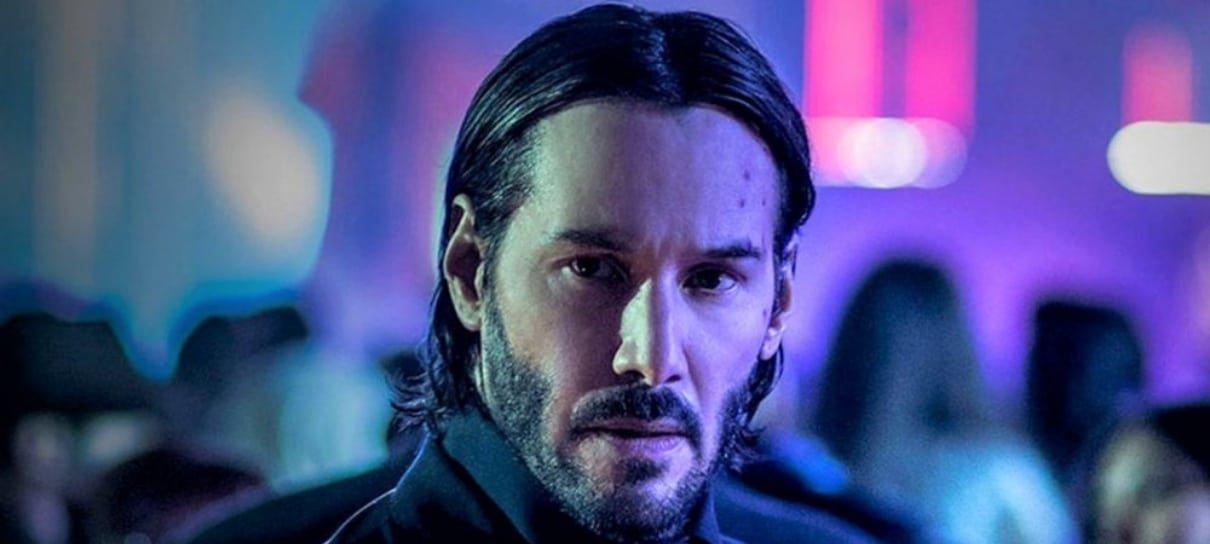 O que aconteceria caso John Wick e Neo se encontrassem? Keanu Reeves responde