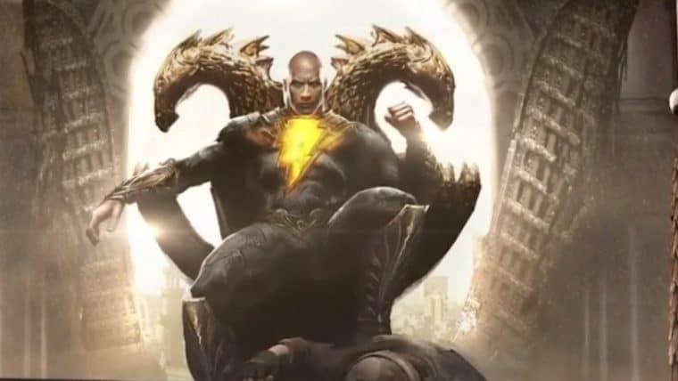 The Rock revela os membros da Sociedade da Justiça que aparecerão no filme do Adão Negro