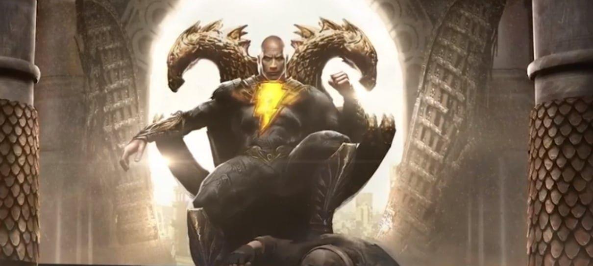 Black Adam | The Rock revela os membros da Sociedade da Justiça ...