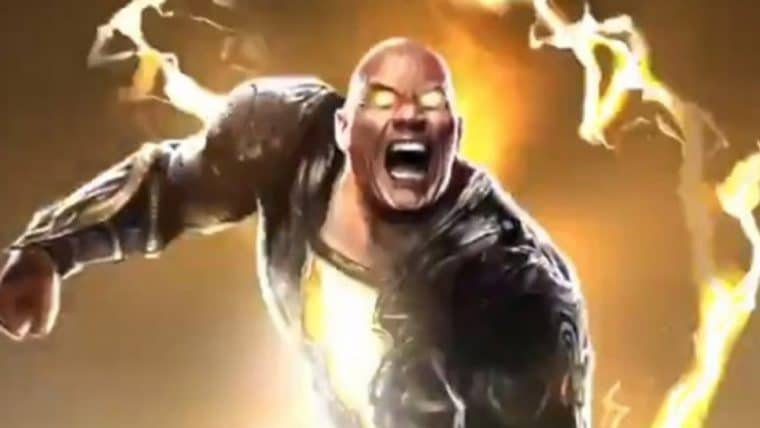 The Rock compartilha teaser de Adão Negro para o painel do personagem no DC FanDome; veja