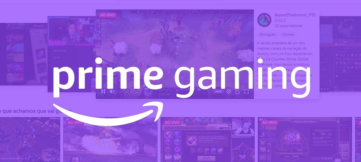 Amazon anuncia Prime Gaming, serviço que substitui Twitch Prime