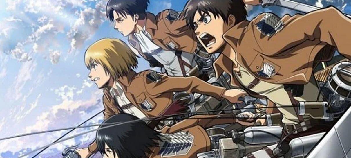 Attack on Titan terá dublagem brasileira na Funimation