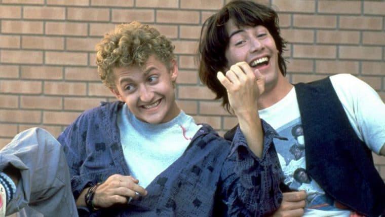 Bill & Ted   Assista ao vídeo do teste de Keanu Reeves e Alex Winter para o primeiro filme