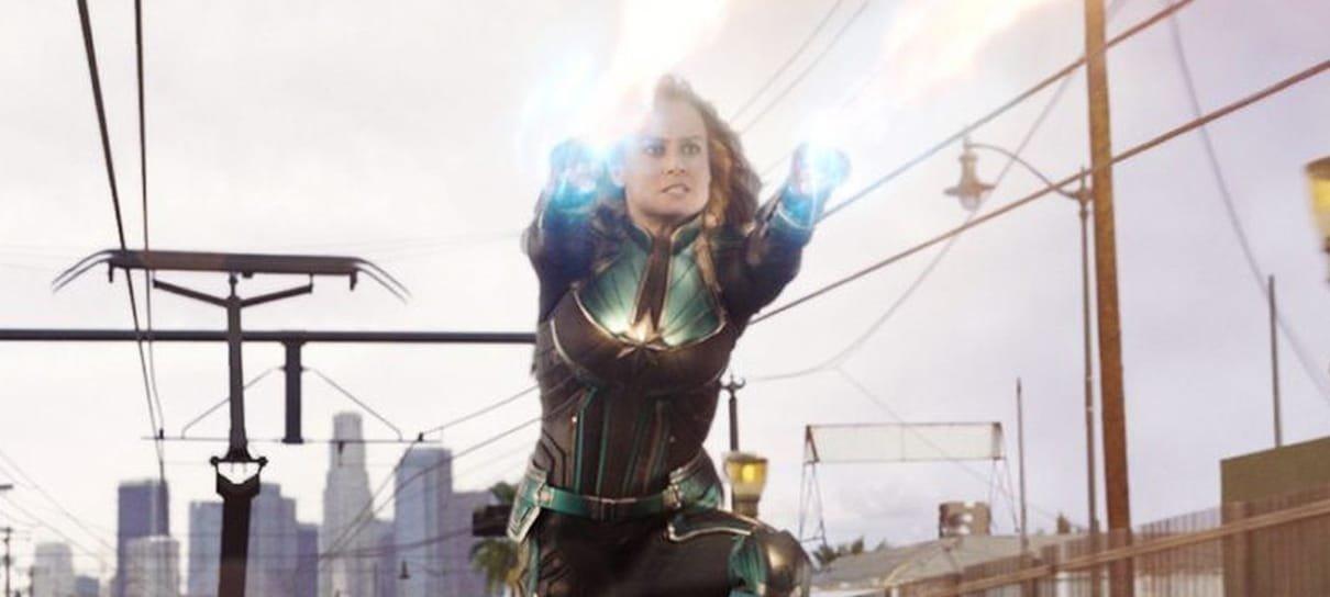 Dublê de Capitã Marvel compartilha vídeo com cenas de luta que não foram para o filme
