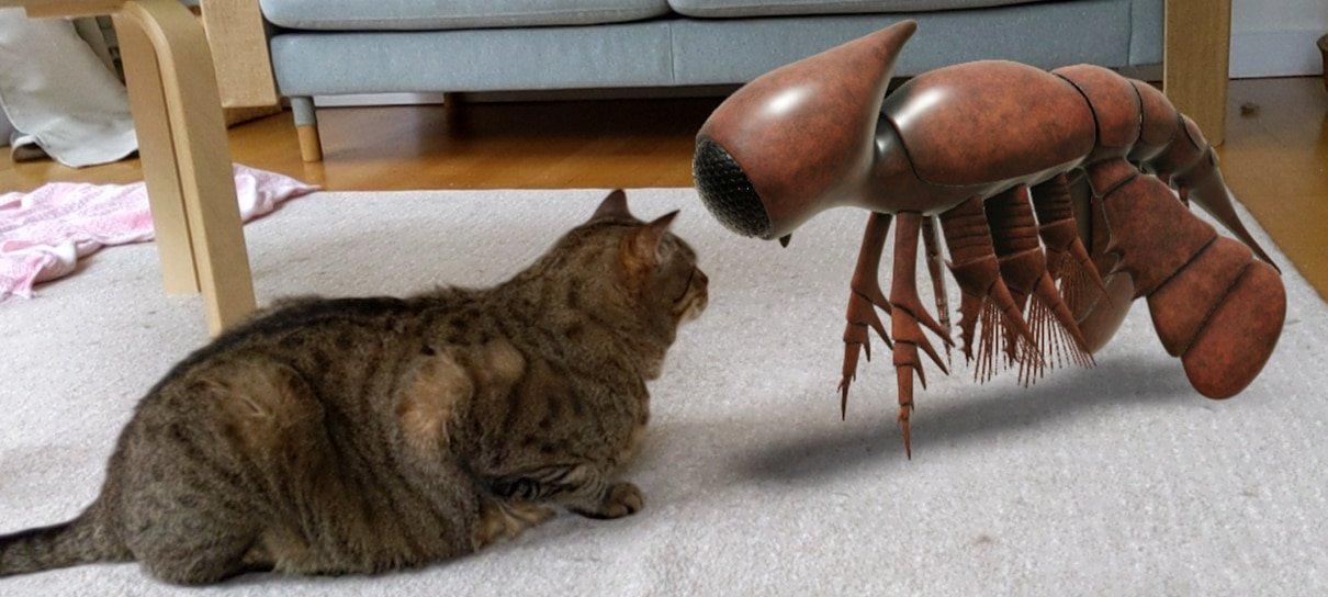 Criaturas pré-históricas podem ser vistas com realidade aumentada da busca do Google