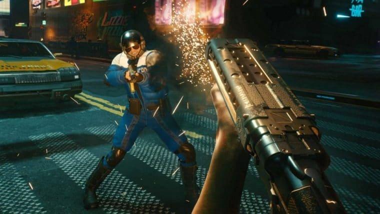Cyberpunk 2077 | Desenvolvedores não estão satisfeitos com o combate do jogo
