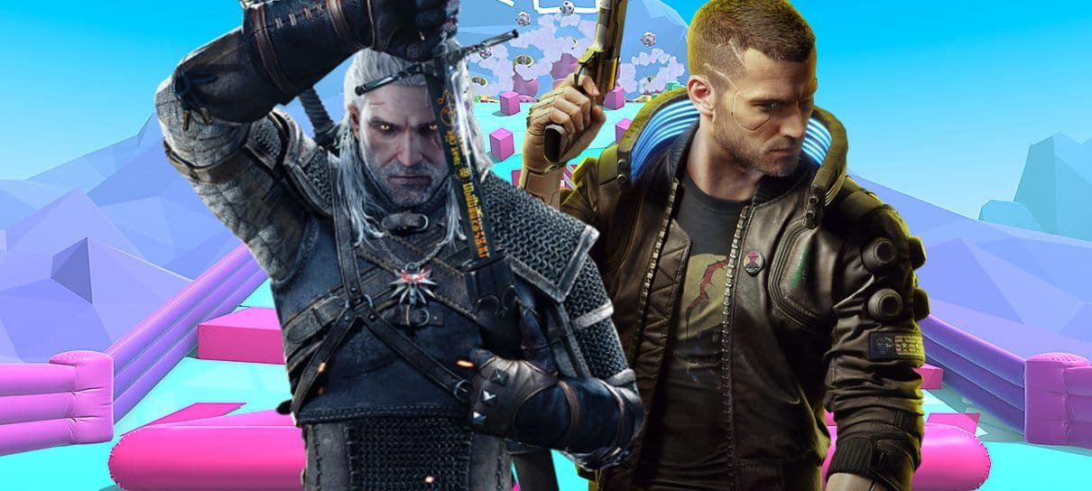 Fall Guys pode ter colaboração com The Witcher e Cyberpunk 2077