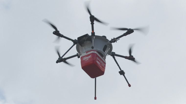 iFood fará testes com drones para otimizar entregas