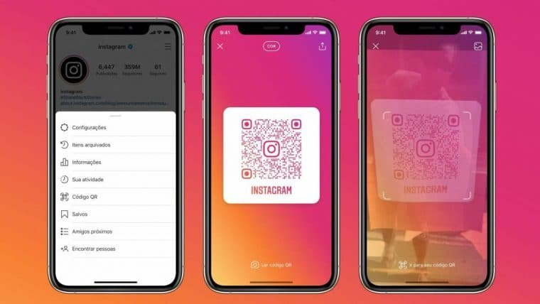 Instagram implementa o uso de QR Code no aplicativo