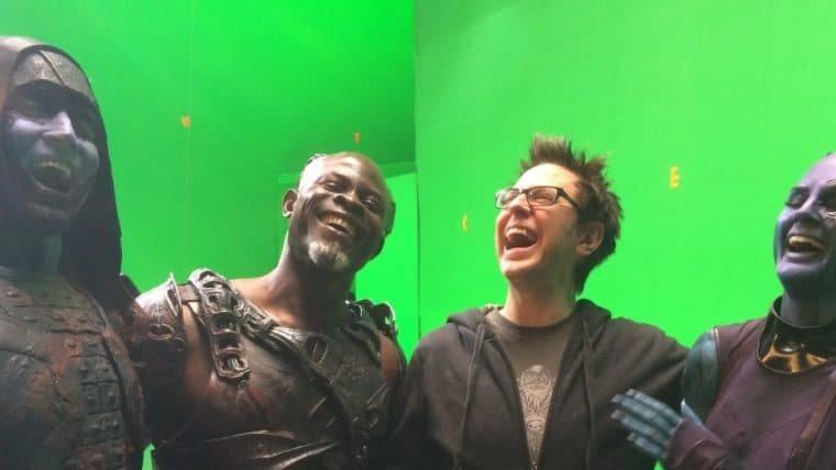 James Gunn comemora 6 anos da estreia de Guardiões da Galáxia com fotos de bastidores