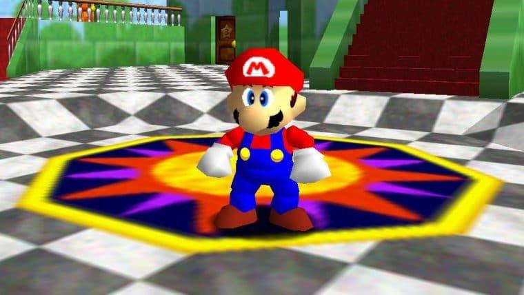 Jogador zera Super Mario 64 em meia hora usando uma bateria