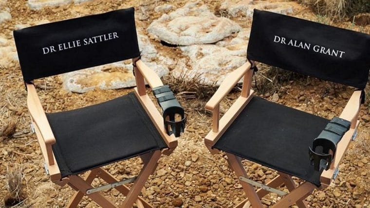 Jurassic World: Dominion | Fotos dos bastidores mostram retorno de Dr. Grant e Ellie