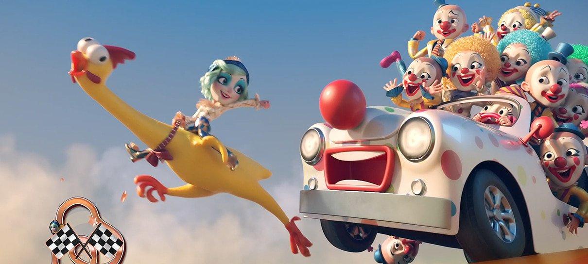 Estúdio brasileiro participou da produção do clipe Smile, da Katy Perry