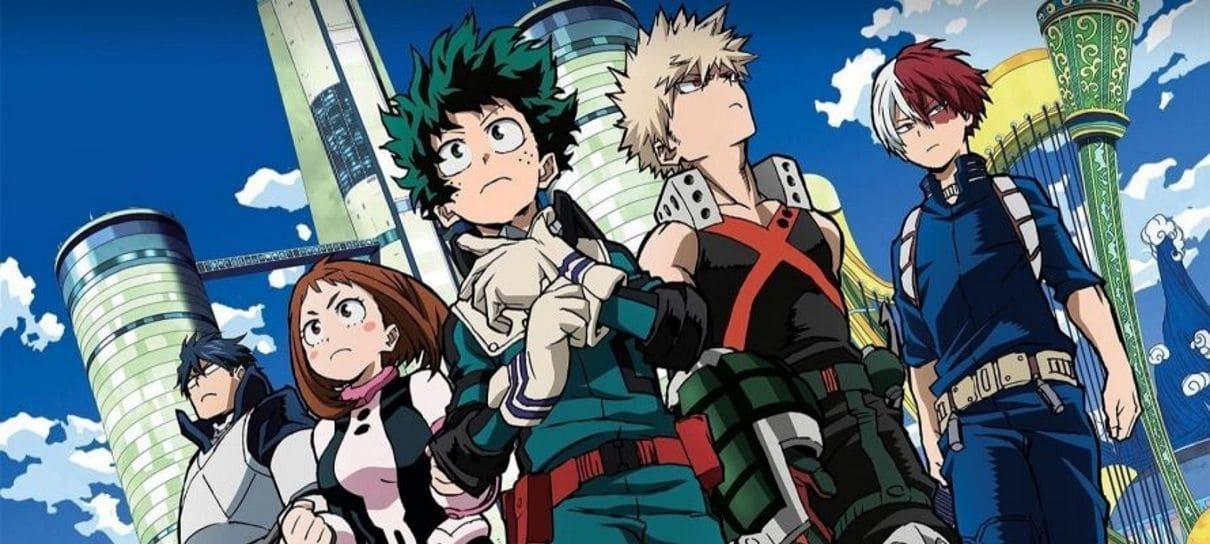 Funimation anuncia My Hero Academia no catálogo brasileiro