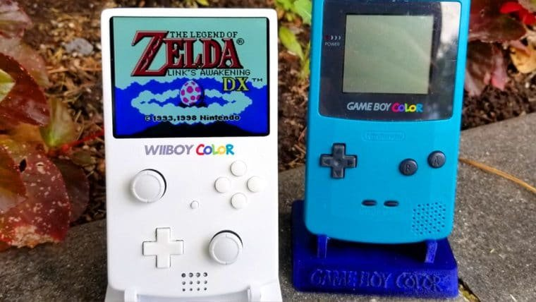 Fã transforma Nintendo Wii em portátil do tamanho do Game Boy Color