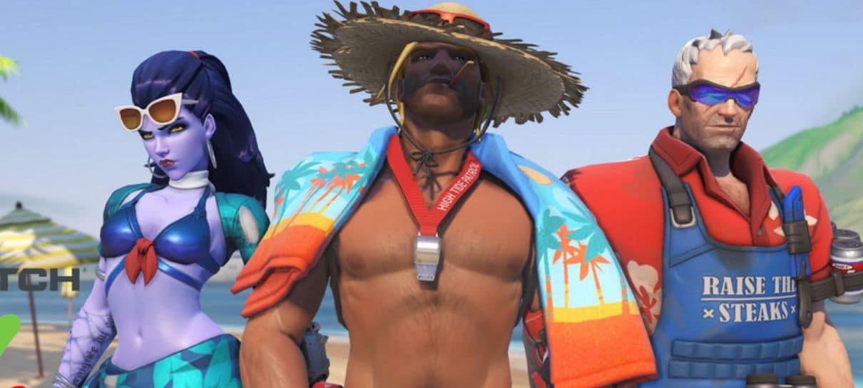 Overwatch | Evento de Verão começa na próxima terça (4); confira as novas skins