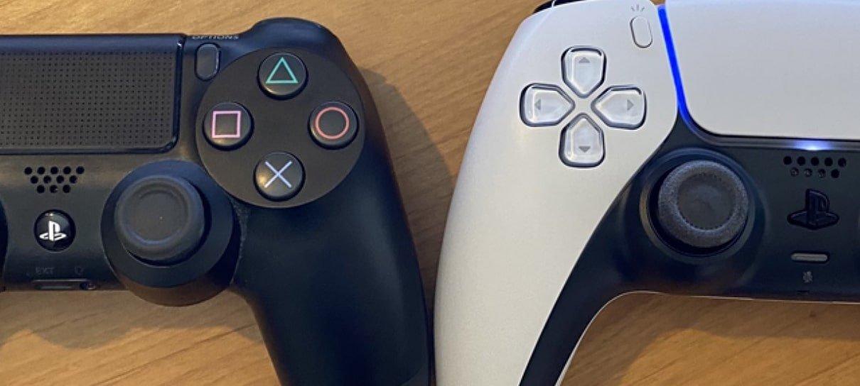 Sony revela quais periféricos do PS4 funcionarão no PS5