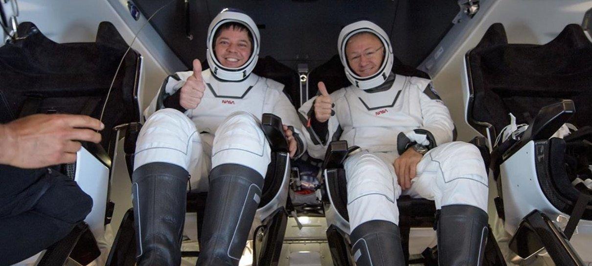 Astronautas do voo tripulado da SpaceX já estão de volta à Terra; veja como foi o retorno