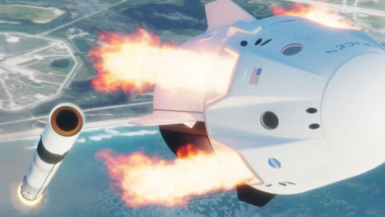 Sucesso da missão Demo-2 reforça planos da SpaceX para turismo espacial em 2021