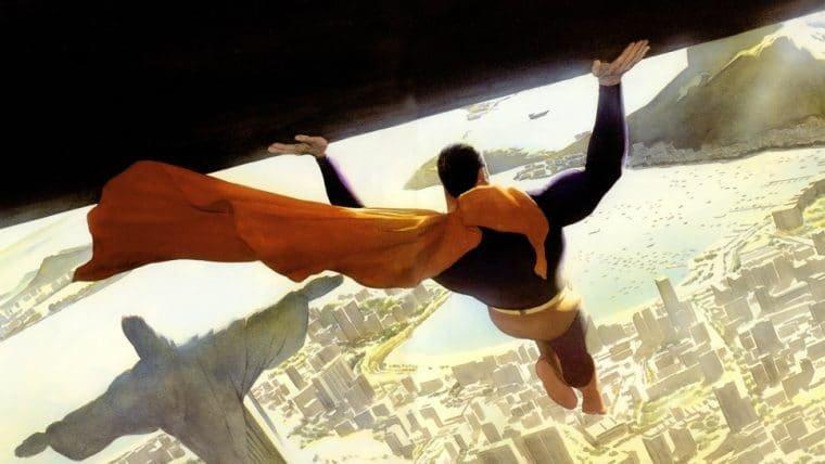 Artista da Marvel e DC compartilha ilustração do Superman no Rio de Janeiro