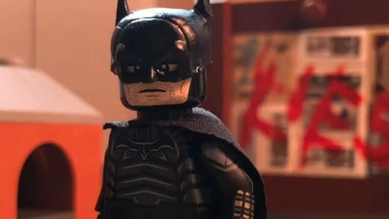 Teaser de The Batman é recriado em LEGO