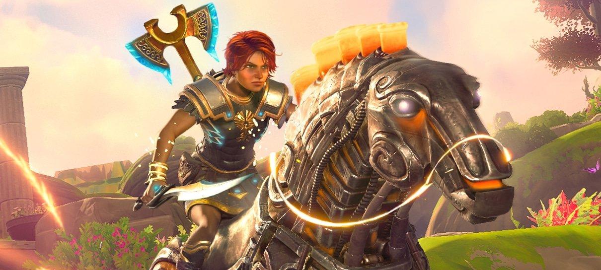 Immortals: Fenyx Rising surgiu de um bug de Assassin's Creed Odyssey, explica diretor