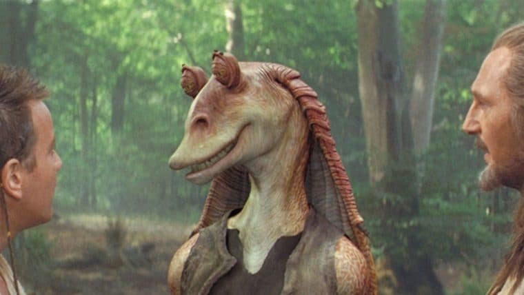 Star Wars   Liam Neeson, o Qui-Gon Jinn da franquia, defende ator de Jar Jar Binks