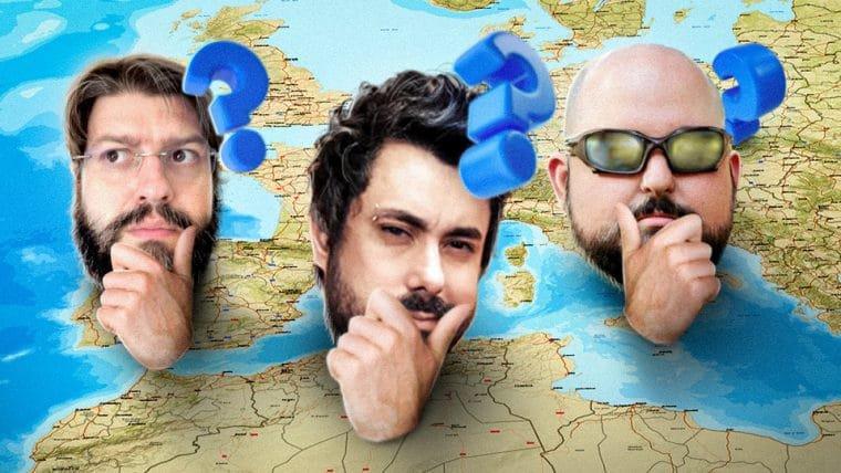 Geoguessr - Quem é mais viajado?