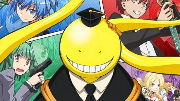 Assassination Classroom terá dublagem em português na Funimation
