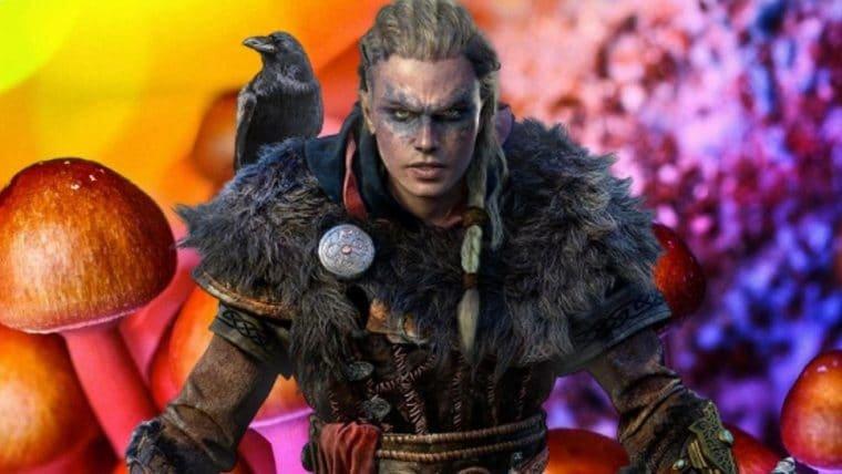 Assassin's Creed Valhalla | Eivor pode consumir cogumelos alucinógenos no jogo