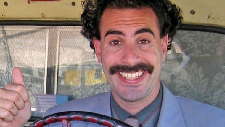 Borat tem sequência produzida e exibida em segredo por Sacha Baron Cohen, diz site