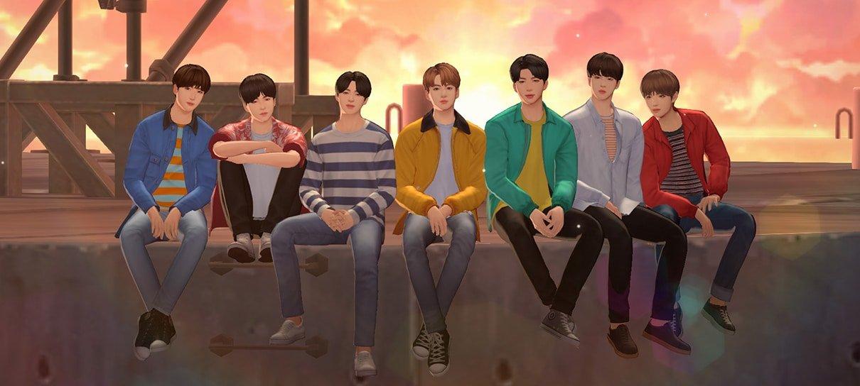 BTS Universe Story traz poderosa ferramenta de criação para que os fãs contem histórias