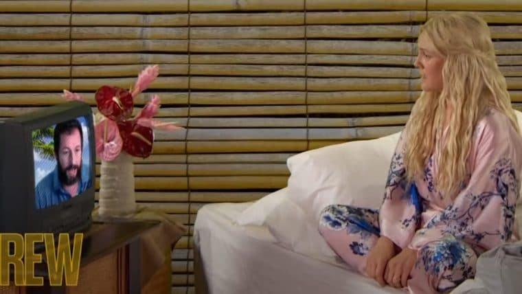 Adam Sandler e Drew Barrymore recriam cena de Como Se Fosse a Primeira Vez em 2020