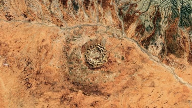 Mineradores encontram uma cratera de 100 milhões de anos na Austrália
