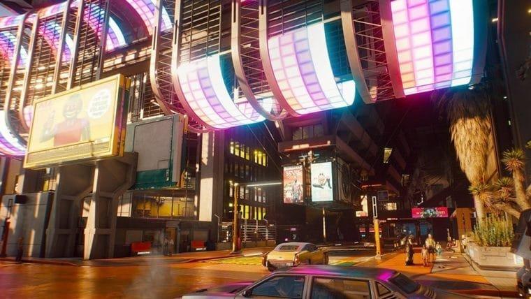 Cyberpunk 2077 | Novas imagens destacam cenários de Night City