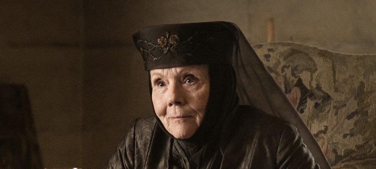 Diana Rigg, a Olenna Tyrell de Game of Thrones, morre aos 82 anos
