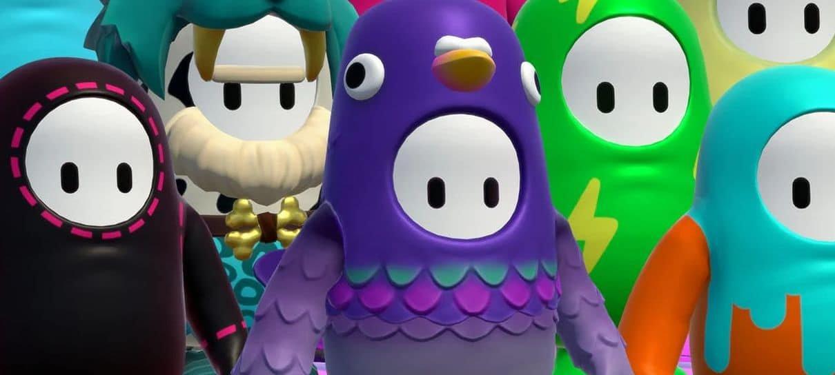 Fall Guys   Skin de pombo roxo é a mais usada pelos jogadores