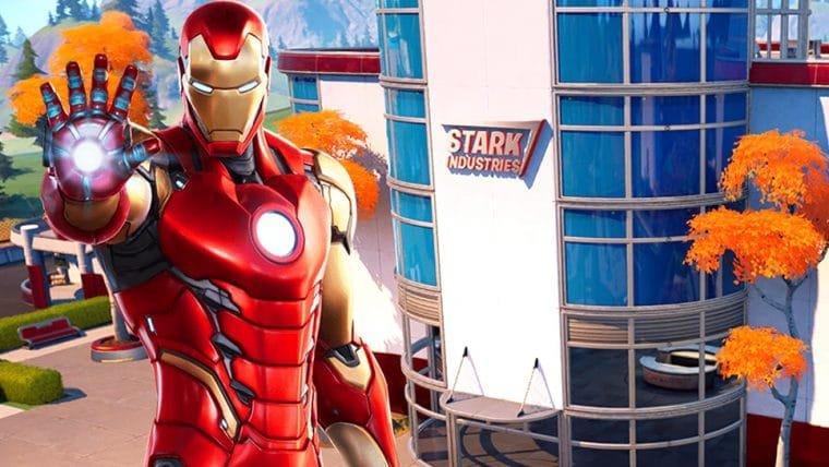 Fortnite terá prédio das Indústrias Stark, do Homem de Ferro
