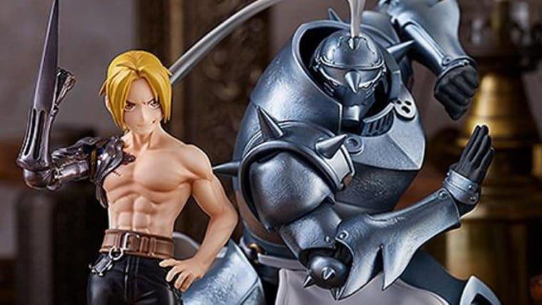Edward e Alphonse Elric se preparam para a ação em novas figures de Fullmetal Alchemist