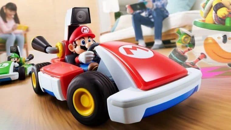 Mario Kart Live: Home Circuit mistura pistas reais com realidade aumentada