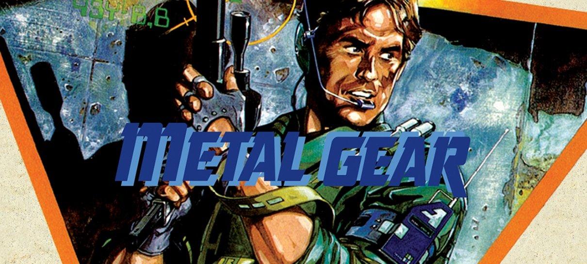 Primeiro Metal Gear e Metal Gear Solid 1 e 2 ganham versões para PC