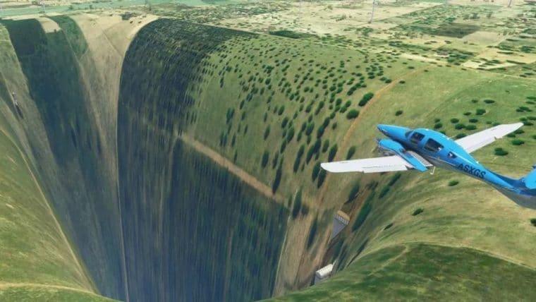 Brasil está bugado até no Microsoft Flight Simulator e os brasileiros caem na zoeira