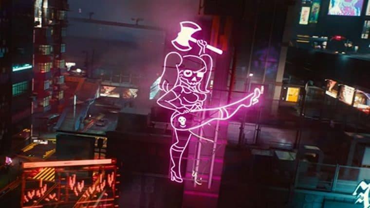 Novo vídeo de Cyberpunk 2077 destaca uso de ray tracing nos cenários