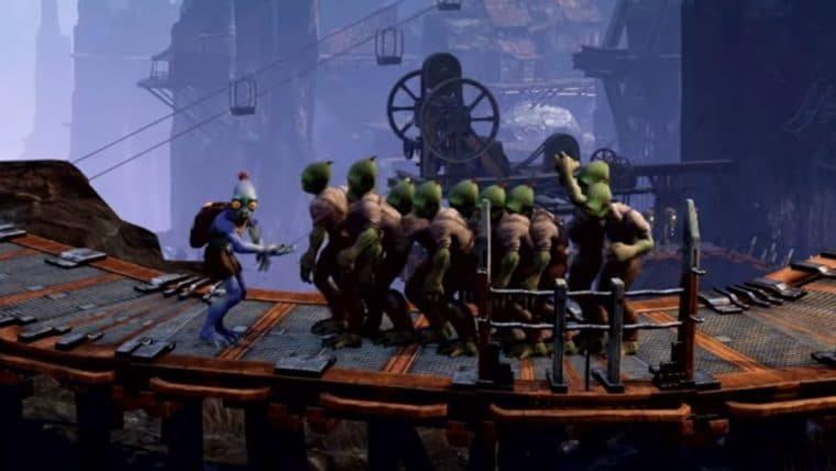 Oddworld: Soulstorm ganha novo trailer mostrando gameplay