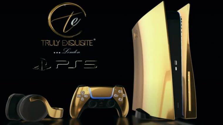 PlayStation 5   Edição banhada a ouro custará 8 mil libras na pré-venda