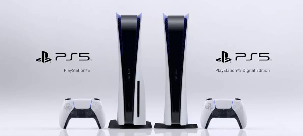 PlayStation 5 | Confira as especificações técnicas das duas versões do console