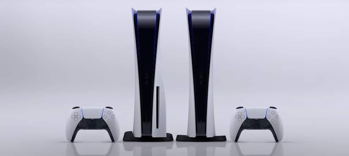 Por que há diferença de preço entre os modelos de Playstation 5?