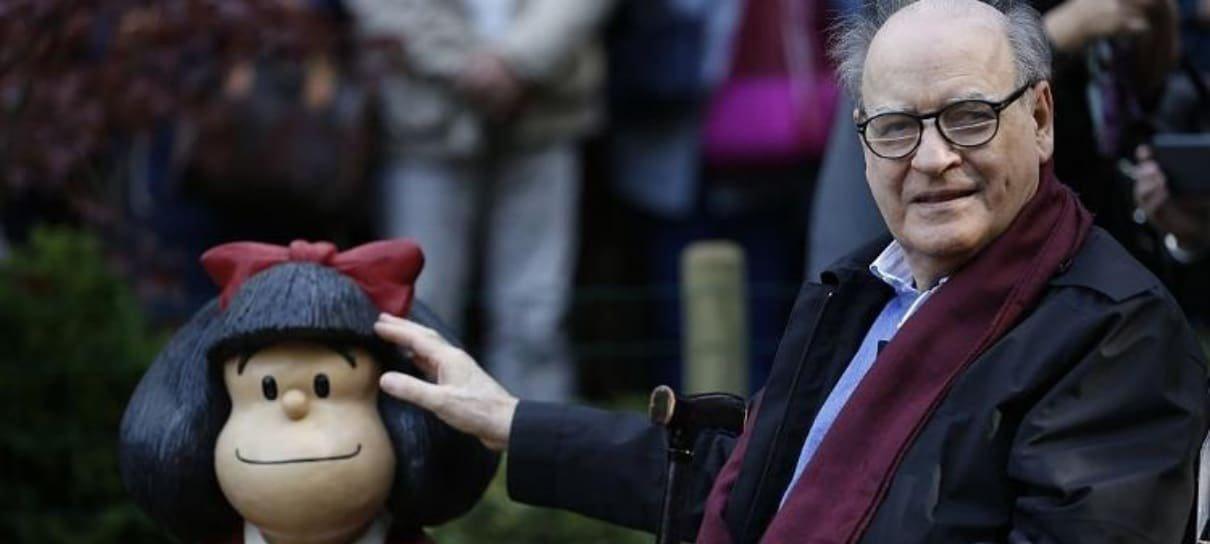 Quino, criador da Mafalda, morre aos 88 anos